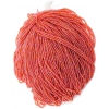Seedbead Transparent Iris Orange 10/0 Strung